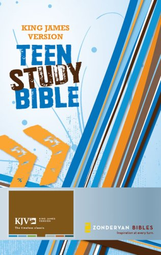 King James Version Teen Study Bible  N/A edition cover