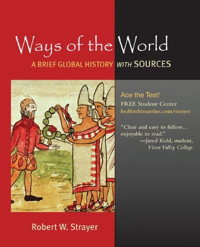 Ways of the World A Brief Global History with Sources  2010 edition cover
