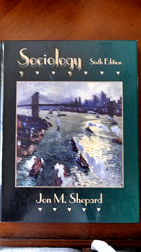 Sociology  6th 1996 9780314063168 Front Cover