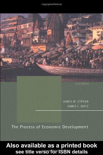 Process of Economic Development  2nd 2004 (Revised) edition cover
