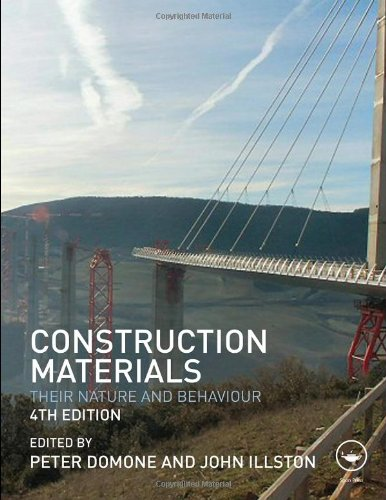 Construction Materials Their Nature and Behaviour 4th 2010 (Revised) edition cover