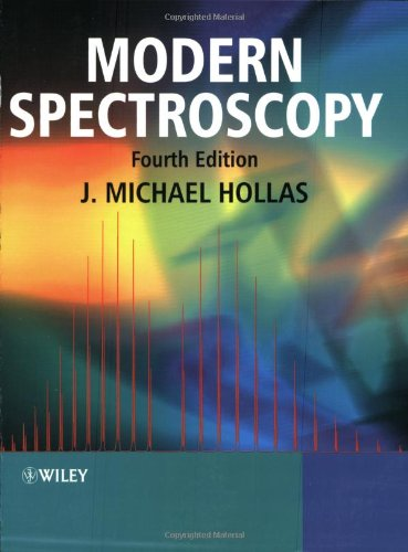 Modern Spectroscopy  4th 2004 (Revised) edition cover