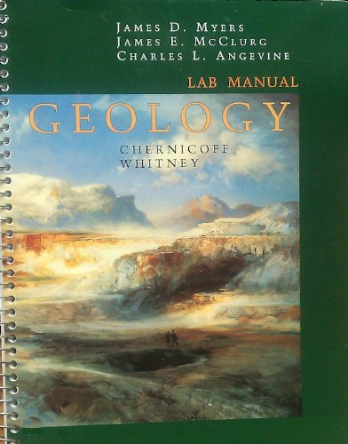 Geology 3rd 2002 (Lab Manual) 9780618118168 Front Cover