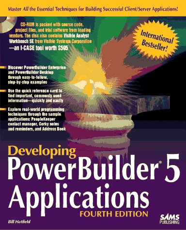Developing Powerbuilder 5 Applications  4th 1996 9780672309168 Front Cover