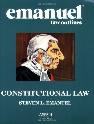 Constitutional Law  24th 2007 (Student Manual, Study Guide, etc.) edition cover