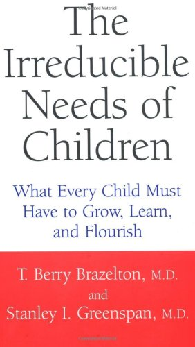 Irreducible Needs of Children What Every Child Must Have to Grow, Learn, and Flourish  2001 edition cover