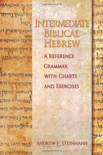 Intermediate Biblical Hebrew   2009 edition cover