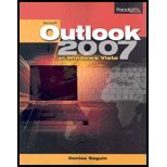 MICROSOFT OUTLOOK 2007 BENCHMA 1st 9780763830168 Front Cover