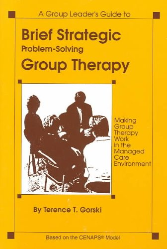 Brief Strategic Problem-Solving Group Therapy Making Group Therapy Work in the Managed Care Environment N/A edition cover