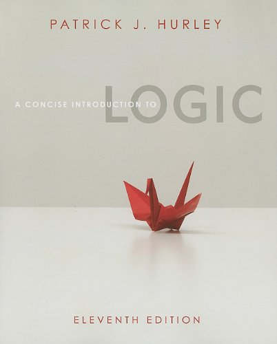 Concise Introduction to Logic  11th 2012 edition cover