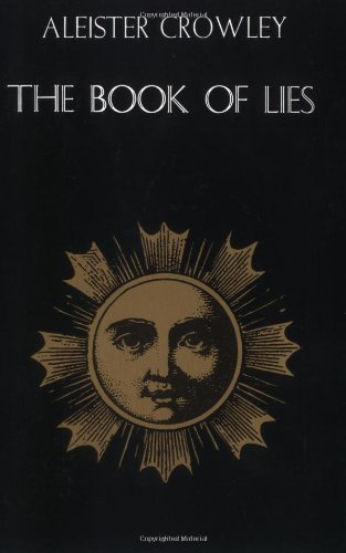 Book of Lies  Reprint 9780877285168 Front Cover