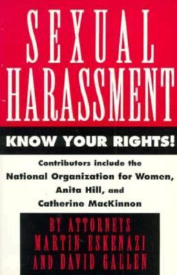 Sexual Harassment Know Your Rights  1992 9780881848168 Front Cover