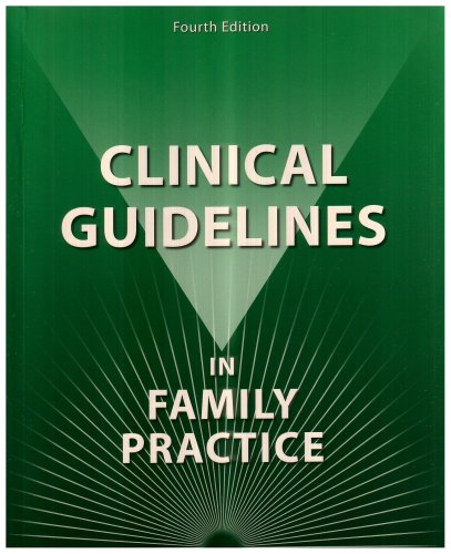 Clinical Guidelines in Family Practice 4th 2003 edition cover