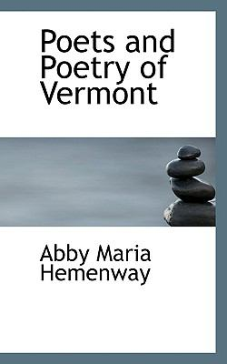 Poets and Poetry of Vermont  N/A 9781116765168 Front Cover