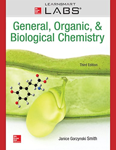Connect With Learnsmart Labs Access Card for General, Organic & Biological Chemistry:   2015 9781259619168 Front Cover