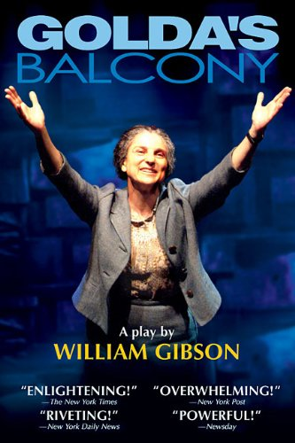 Golda's Balcony A Play  2003 edition cover