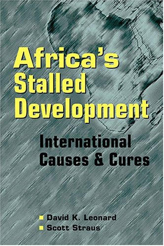 Africa's Stalled Development International Causes and Cures  2003 edition cover