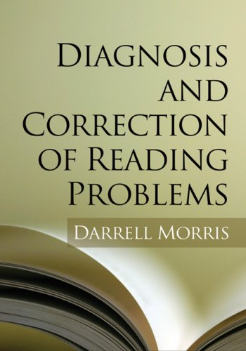 Diagnosis and Correction of Reading Problems   2008 edition cover