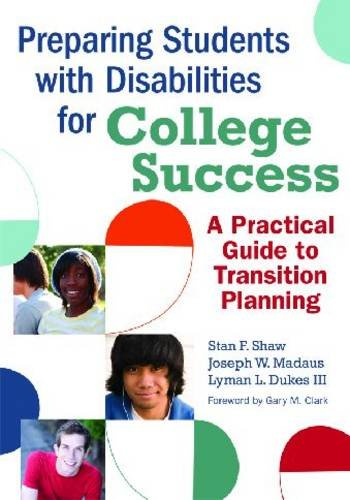 Preparing Students with Disabilities for College Success A Practical Guide to Transition Planning  2010 edition cover