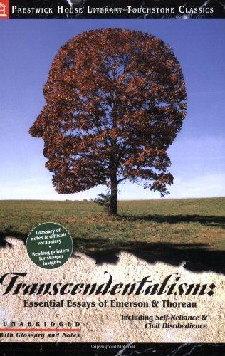 TRANSCENDENTALISM:ESSENTIALS E N/A edition cover