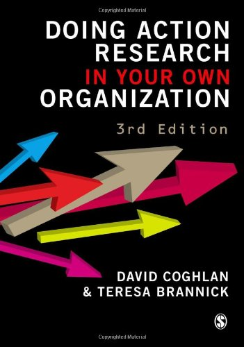 Doing Action Research in Your Own Organization  3rd 2010 edition cover