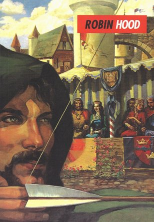 Robin Hood and His Merry Outlaws Abridged  edition cover