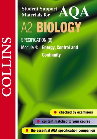 AQA (B) Biology (Collins Student Support Materials) N/A edition cover