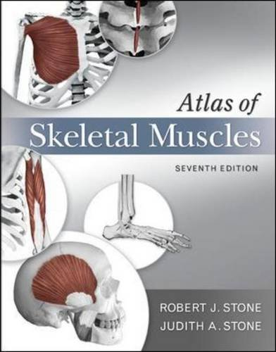 Atlas of Skeletal Muscles  7th 2012 edition cover