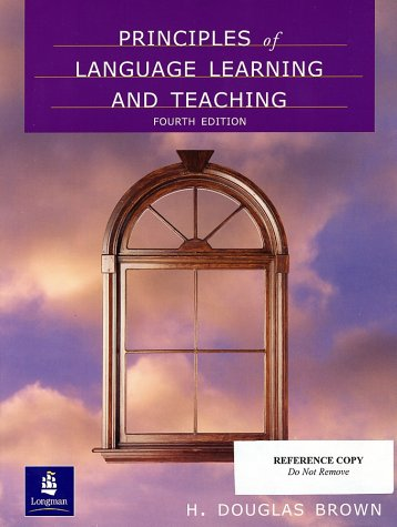 Principles of Language Learning and Teaching  4th 2000 9780130178169 Front Cover