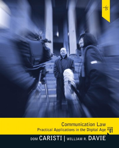 Communication Law   1995 edition cover