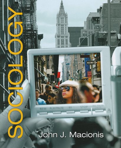 Sociology (Paperback)  13th 2010 edition cover