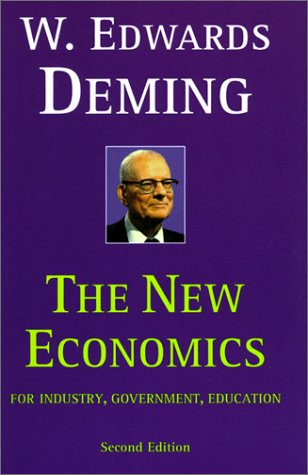 New Economics for Industry, Government, Education  2nd 2000 edition cover