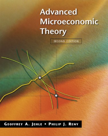 Advanced Microeconomic Theory  2nd 2001 (Revised) edition cover