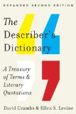 Describer's Dictionary A Treasury of Terms and Literary Quotations 2nd 2014 edition cover