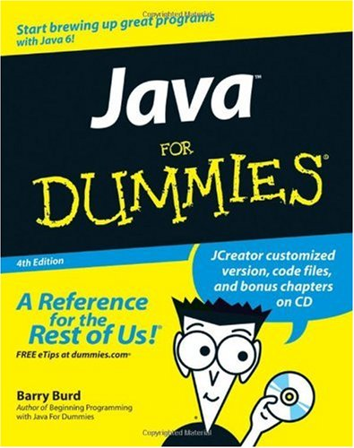 Java for Dummies  4th 2007 (Revised) 9780470087169 Front Cover