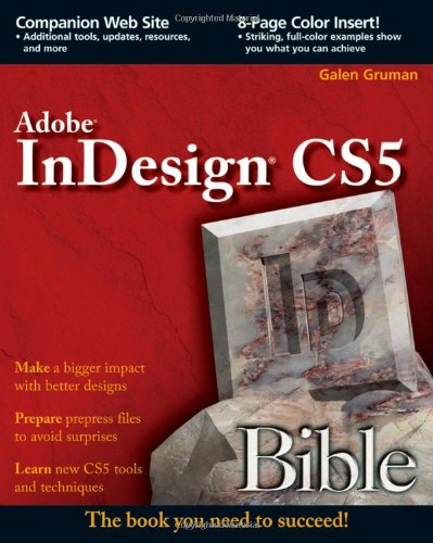 InDesign CS5   2010 edition cover