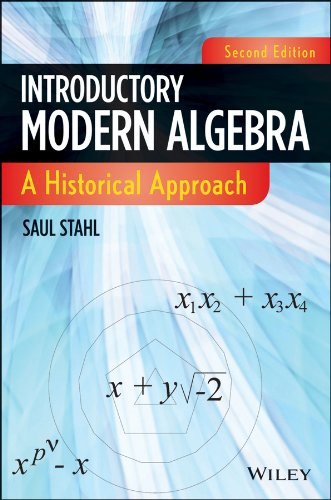 Introductory Modern Algebra A Historical Approach 2nd 2013 edition cover