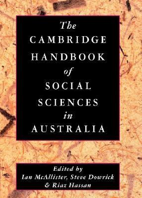 Cambridge Handbook of Social Sciences in Australia   2003 9780521822169 Front Cover
