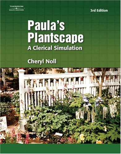 Paula's Plantscape  3rd 2005 (Revised) 9780538439169 Front Cover