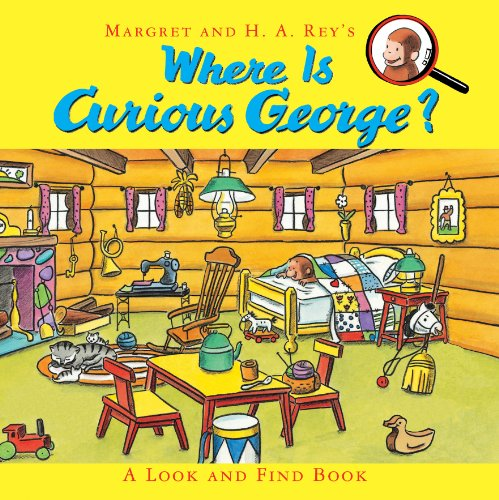 Where Is Curious George? A Look and Find Book  2013 9780547914169 Front Cover