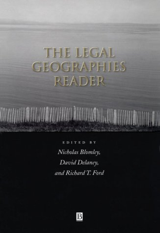 Legal Geographies Reader   2001 edition cover