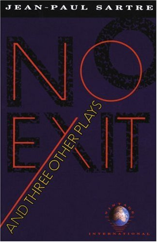 No Exit and Three Other Plays   1976 9780679725169 Front Cover