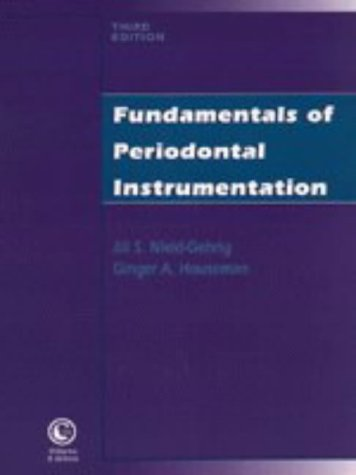 Fundamentals of Periodontal Instrumentation 3rd 1996 (Revised) 9780683065169 Front Cover