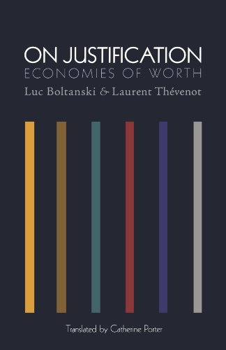 On Justification Economies of Worth  2006 edition cover