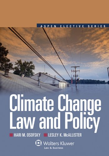 Climate Change Law and Policy  N/A edition cover