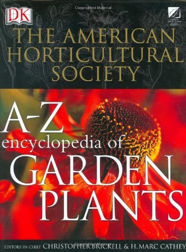 A to Z Encyclopedia of Garden Plants   2004 edition cover