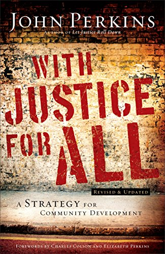 With Justice for All A Strategy for Community Development Revised edition cover