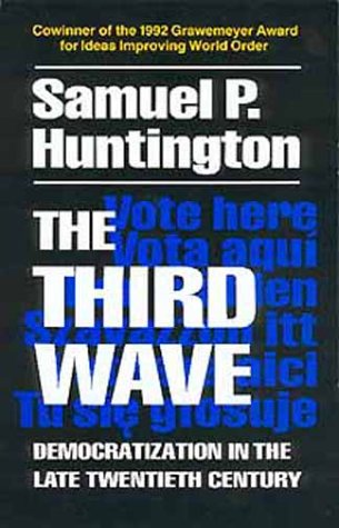 Third Wave Democratization in the Late 20th Century  1993 edition cover