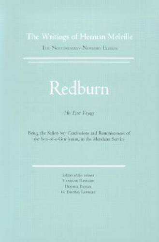 Redburn Works of Herman Melville N/A edition cover
