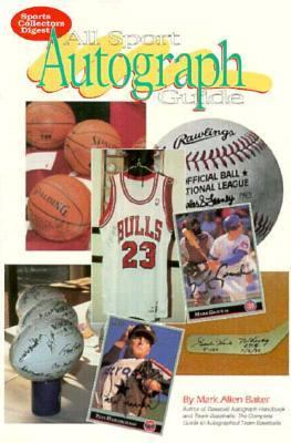 All-Sport Autograph Guide N/A 9780873413169 Front Cover